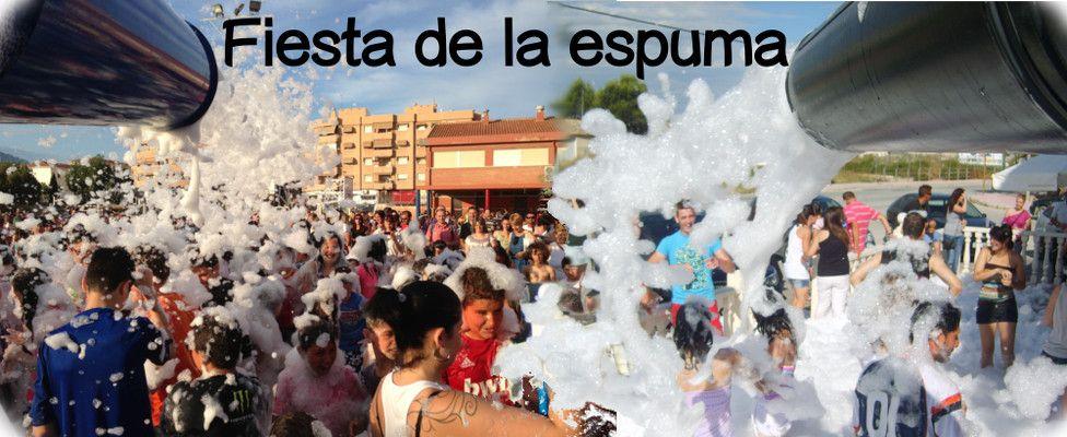 Alquiler Cañón de Espuma para Fiestas en Alicante y Murcia