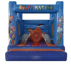 Alquiler castillos hinchable marino para fiestas Infantiles