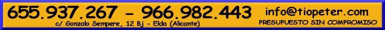 Queremos trabajar Contigo - Servicios para Fiestas y Eventos - Alicante