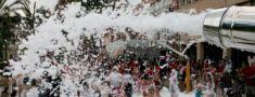 Fiesta de la Espuma, Alquiler Cañon de Espuma, Alicante y Murcia