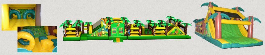 castillos hinchable pista americana Fiestas Infantiles 24m