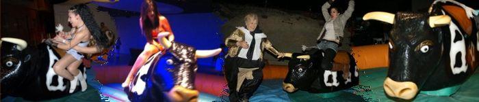 Alquiler Toro Mecánico para Fiestas en Alicante y Murcia