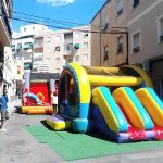 Castillos Hinchables en Falla las 300, Elda