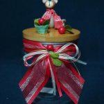 Tarros decorativos de Navidad