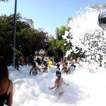 Cañón de Espuma en Fiesta