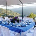 Alquiler de mesa, sillas y carpa para evento