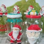 Tarro decorativo de Navidad