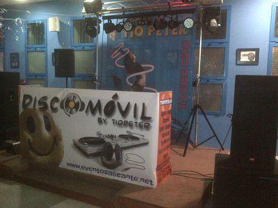 Discomóvil en Fiesta Adolescente de Alicante