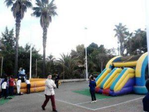 Alquiler de Toro Mecánico y Castillo Hinchable Fiesta Infantil