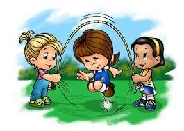 Juegos con niños comba