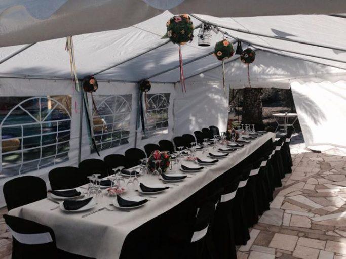 Alquiler de Mesas, Sillas, Carpa y Menaje para Evento (Alicante)