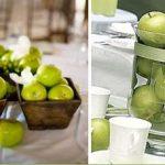 Centro de Mesa para Boda de Fruta
