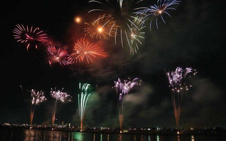 fuegos artificiales, un clásico en las fiestas populares