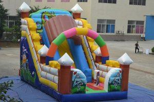 Tobogan hinchable para fiestas infantiles