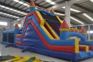 Castillo hinchable pista americana para Fiestas Infantiles