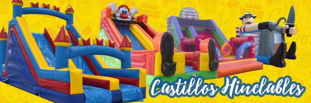 Alquiler Castillos y Colchonetas Hinchables para fiestas infantiles en Alicante