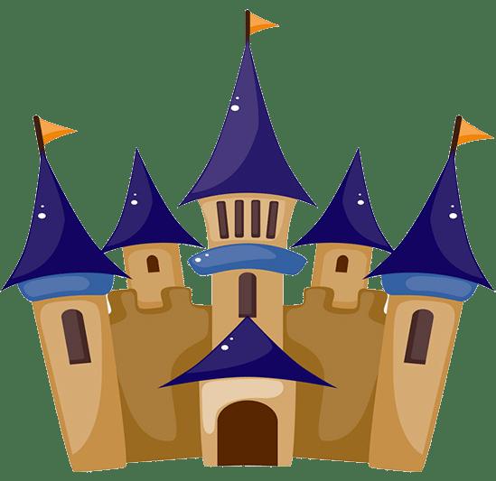 castillo de princesas, enamorará a todos.