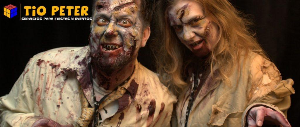 Disfraz de Halloween de zombie