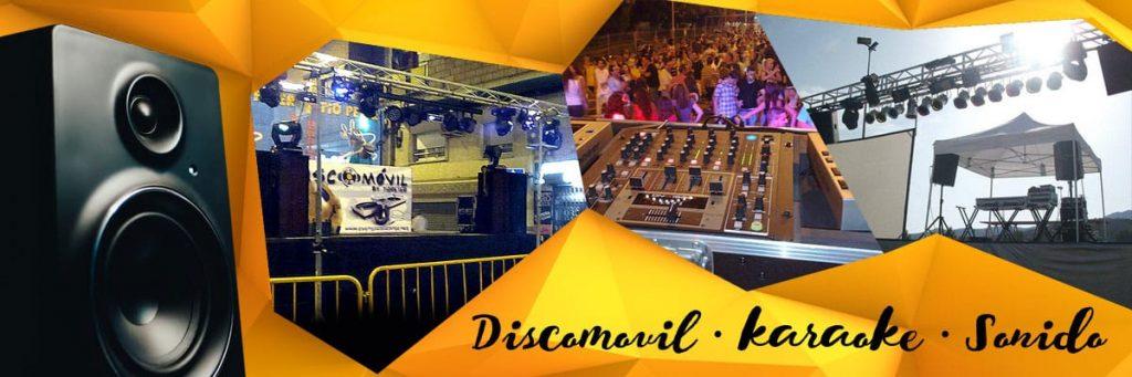 Alquiler equipos de sonido y luz, Karaoke profesional y Discomovil con Deeejay