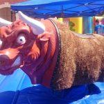 Alquiler atracciones bufalo mecanico en Alicante y Murcia
