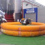 Alquilar toro mecánico hinchables para eventos en Alicante y Murcia