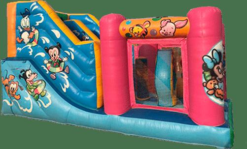 Alquiler castillo hinchable infantil para cumpleaños
