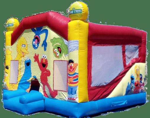 Alquiler castillos hinchable para cumpleaños infantil en Alicante y Murcia