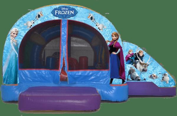 Alquiler castillo con tobogán para cumpleaños