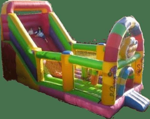 Alquiler colchonetas hinchables de salto para niños