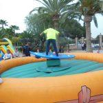 Alquiler simulador de surf para adultos en Alicante y Murcia