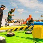 Alquiler palo loco hinchable para eventos en Alicante y Murcia