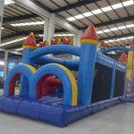 Gran Castillo hinchable para fiestas infantiles