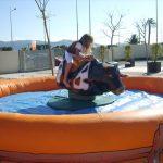 Alquiler toro mecanico para fiestas infantiles y comuniones en Alicante
