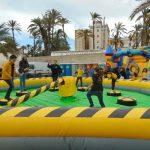 Alquiler Barredora hinchable para fiestas infantiles en Alicante y Murcia