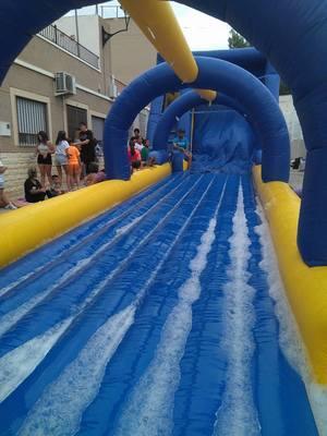 Alquiler castillo acuático con piscina para Fiestas