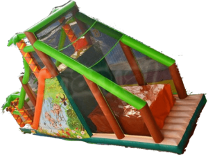 Alquiler castillo hinchable multideporte para niños y adultos