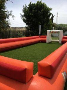 Alquiler futbolin humano para Fiestas y eventos