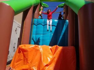 Hinchable caida libre segura para fiestas y eventos