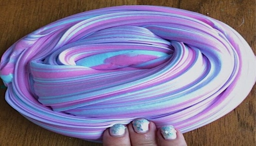 Como hacer slime casero de colores