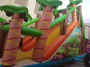 Alquiler castillos hinchables y deportivos en Alicante y Murcia