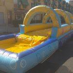 Hinchable acuático con piscina para Fiestas