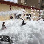 Alquiler fiesta de la espuma Alicante y Murcia