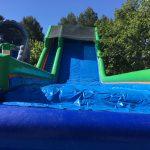 Super tobogán de agua con piscina para Fiestas