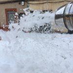 Alquiler de cañón de espuma