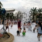 Alquiler Cañon de espuma para Fiestas Infantiles