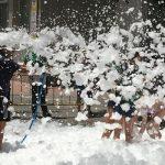 Fiesta de la espuma en Alicante y Murcia