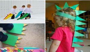 Disfraces para fiesta de dinosaurios