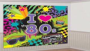 música y karaoke para fiesta años 80