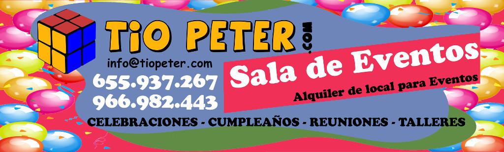 Alquiler de local para fiestas infantiles en Petrer y Elda
