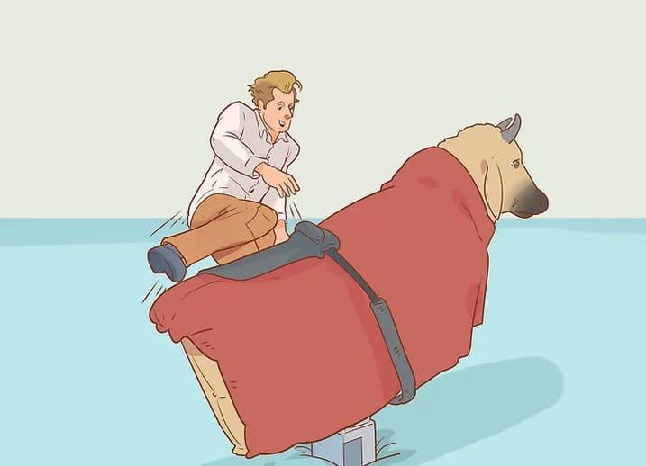 Como montar un toro mecanico para fiestas